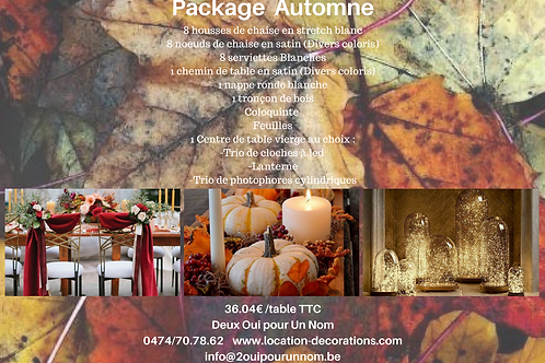 """Package """"Automne"""""""