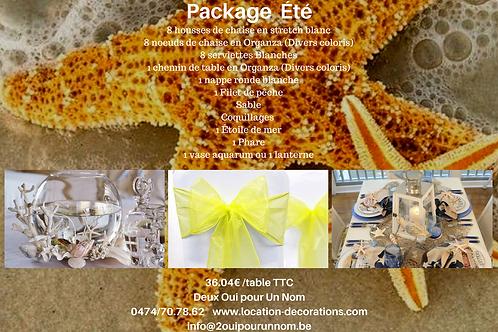 """Package """"Été"""""""
