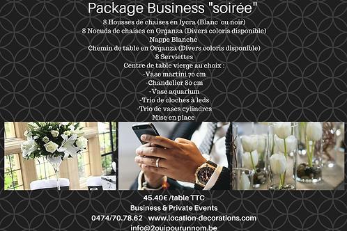 "Package ""soirée business"""