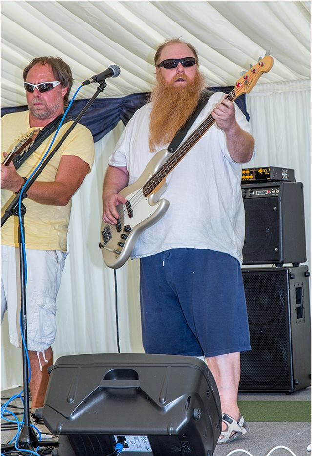 A Bass player, nuff sed.