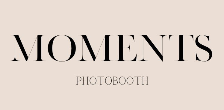 Moment's Photobooth - 3 Hours