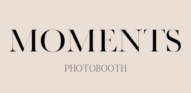 Moment's Photobooth - 2 Hours