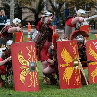 Ancient Roman Re Enactors Victoria-45.jp