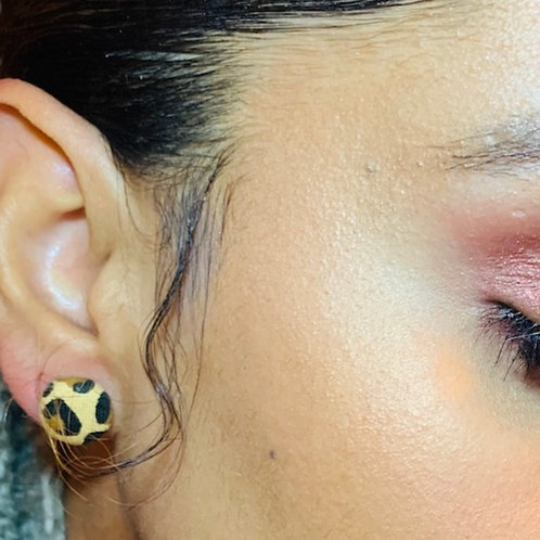 THIS-Leopard Earring Set