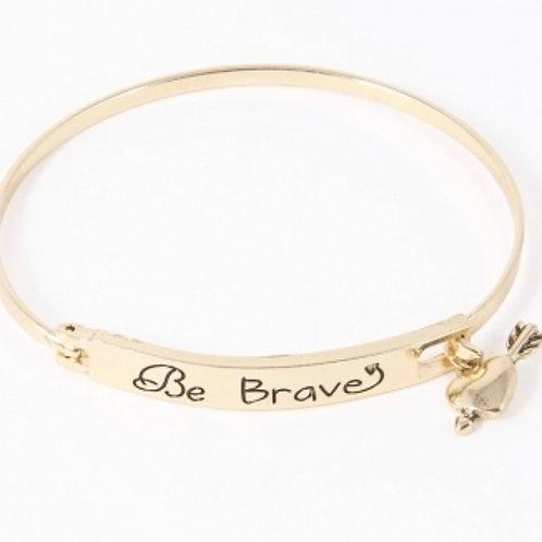 Be Brave Bangle Bracelet