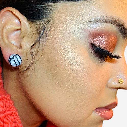 THIS-Stripe Earring Set