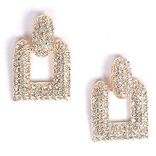 Bling Knocker Earrings