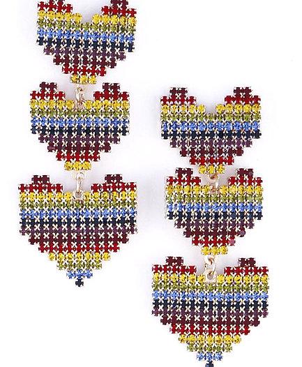 Heart Layer Earrings