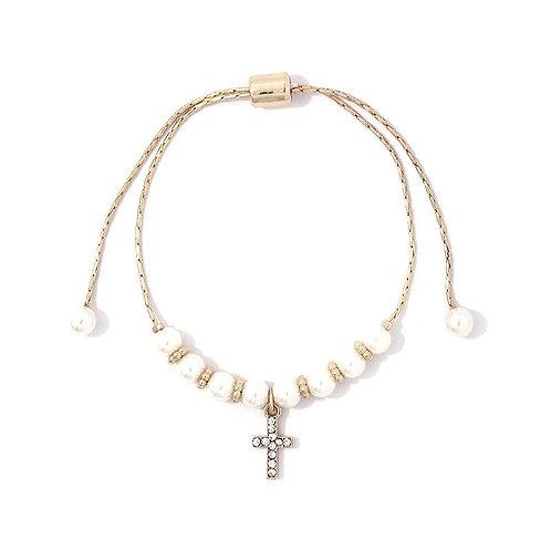 Chain Cross Bracelet