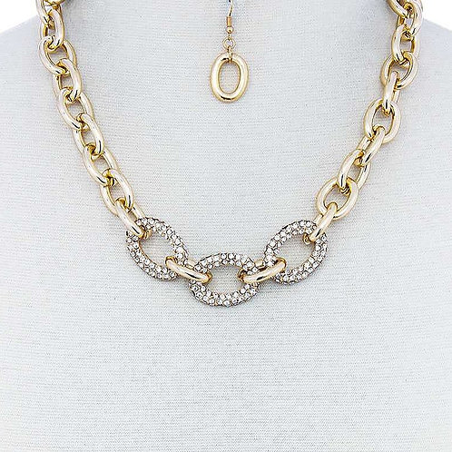 Diamond Bold Link Chain