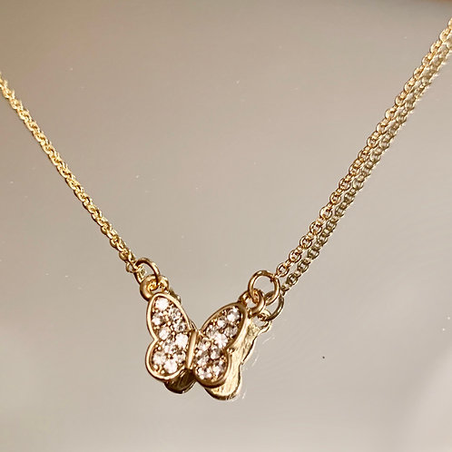 Diamond Butterfly Chain