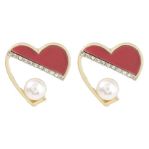 Pearl of My Heart Earrings