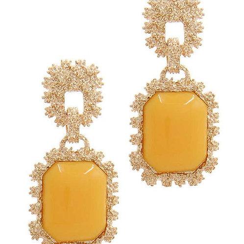 Antique Gold Dropper Earrings