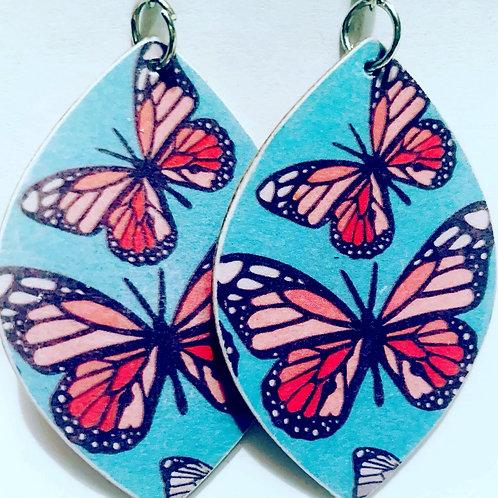 Butterfly Sky Drop Earrings