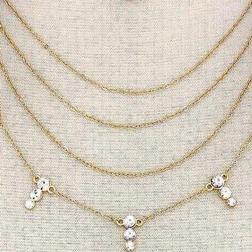 Diamonds All Around Layer Chain