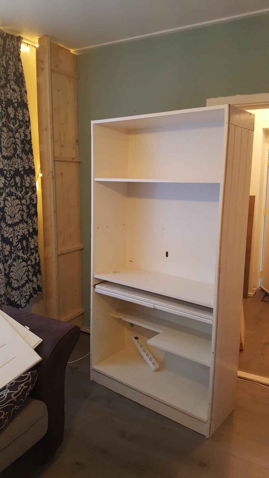 Computerkast Van Steigerhout.Computer Kast