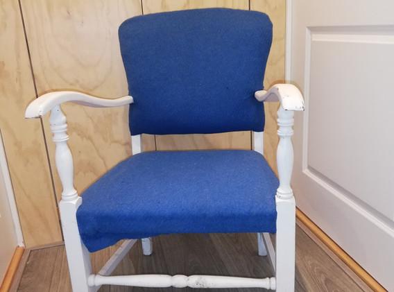 Upcycling stoel: voor