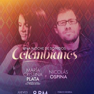 Noche de sonidos colombianos
