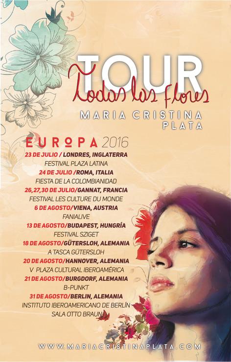 Tour Todas las flores 2015