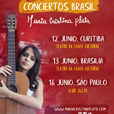 Conciertos Brazil 2018