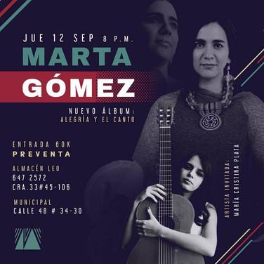 Marta Gómez. Bucaramanga