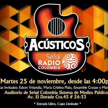 Acústicos señal radio colombia