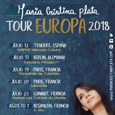 Tour Europa 2018