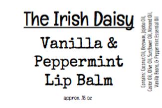 Vanilla & Peppermint Lip Balm