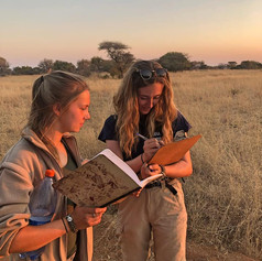 Volunteers Learning South African Grasses