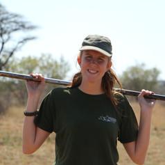 Volunteer Enjoying Taking Part In  Reserve Maintenance