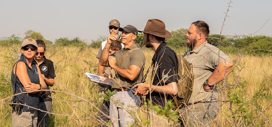 Volunteers Conducting Scientific Research