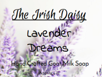 Lavender Dreams Goat Milk Soap