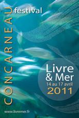 Affiche pour le Festival du Livre de Concarneau