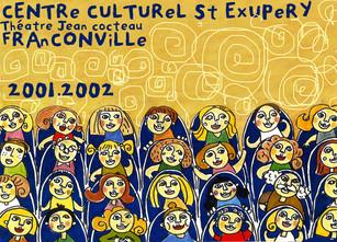 Couverture du livret du centre culturel St Exupery - Franconville