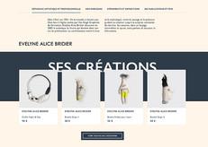 Photos des créations de la feutrière Evelyne Alice Bridier pour le site internet d'EMPREINTES - Paris