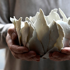 Reportage réalisé dans l'atelier de la céramiste Guénaëlle Grassi