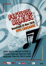 Proposition d'affiche - Festival Balelec