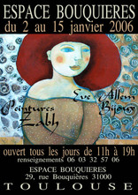 Affiche pour l'espace Bouquières - Toulouse