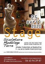 Photo pour l'affiche d'un stage chez la céramiste Guénaëlle Grassi