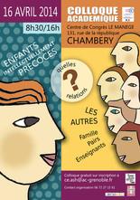 Affiche pour un colloque académique - Chambery