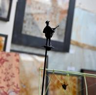 Reportage réalisé dans l'atelier de l'artiste Guillaume Ponsin