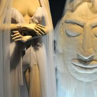 Exposition Jean Paul Gauthier - Grand palais- 2015 - Scénographie Agence projectiles - Adaptation Sandra Gagné, Musée des BA de Montréal