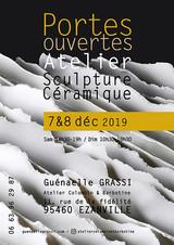 Photo pour l'affiche des portes ouvertes de l'atelier de la céramiste G.Grassi