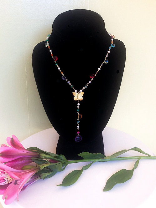 Butterfly Dream Necklace - Short