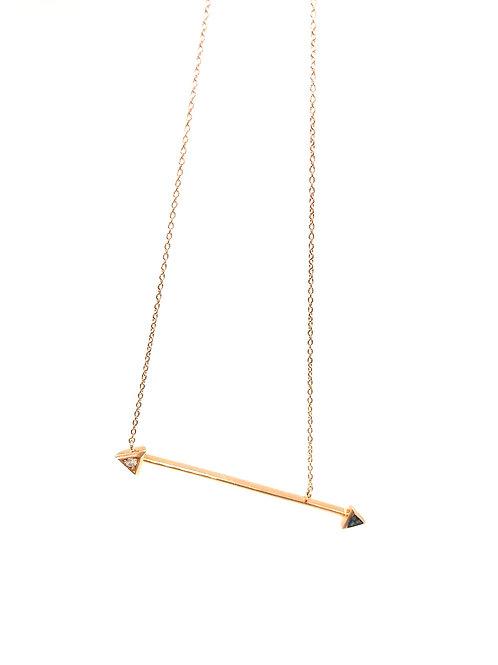 Arrow Bar Necklace