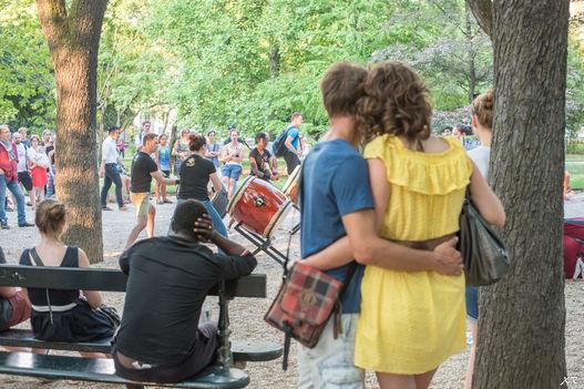 Les amoureux de la musique