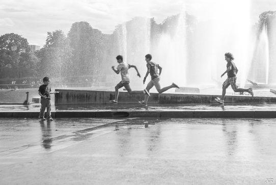 Les enfants du Trocadéro