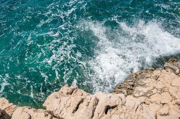 Mer dans la Terre, Port d'Alon