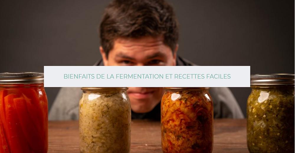 Rôle des aliments fermenté dans le maintien de d'équilibre du microbiote et l'amélioration de la santé.