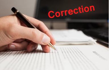 Correction professionnelle